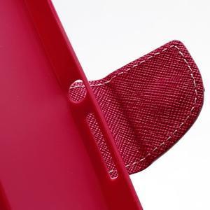 Mr. Goos peněženkové pouzdro na Sony Xperia Z - růžové - 6