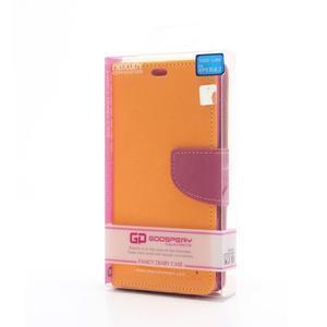 Mr. Goos peněženkové pouzdro na Sony Xperia Z - žluté - 6
