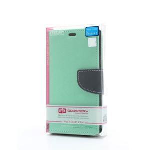 Mr. Goos peněženkové pouzdro na Sony Xperia Z - azurové - 6