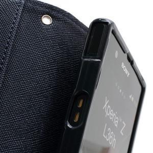 Mr. Goos peněženkové pouzdro na Sony Xperia Z - fialové - 6