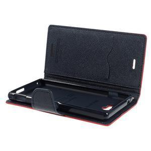Mr. Goos peněženkové pouzdro na Sony Xperia M2 - červené - 6
