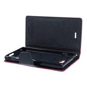 Mr. Goos peněženkové pouzdro na Sony Xperia M2 - rose - 6
