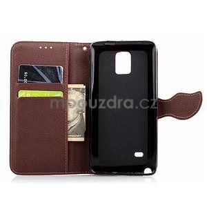 Peněženkové pouzdro s poutkem na Samsung Galaxy Note 4 - černé - 6