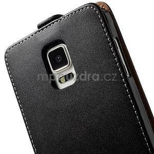 Flipové pouzdro pro Samsugn Galaxy Note 4 - černé - 6