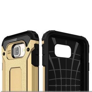 Extreme outdoor kryt 2v1 na mobil Samsung Galaxy A3 (2016) - zlatý - 6