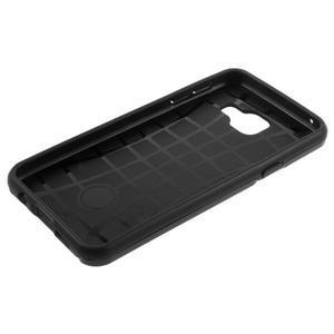 Odolný ochranný obal 2v1 na mobil Samsung Galaxy A3 (2016) - černý - 6