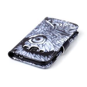Emotive peněženkové pouzdro na Samsung Galaxy Core Prime - sova - 6