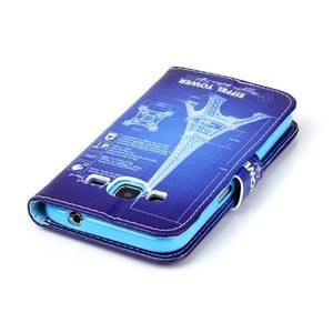 Emotive peněženkové pouzdro na Samsung Galaxy Core Prime - Eiffelova věž - 6
