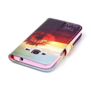 Emotive peněženkové pouzdro na Samsung Galaxy Core Prime - východ slunce - 6