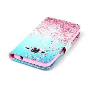 Emotive peněženkové pouzdro na Samsung Galaxy Core Prime - kvetoucí švestka - 6