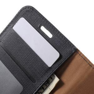 Clothy peněženkové pouzdro na Samsung Galaxy Core Prime - černé - 6