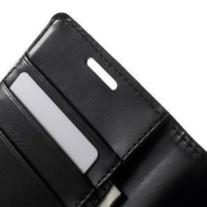 Moonleather PU kožené pouzdro na Samsung Galaxy Core Prime - černé - 6