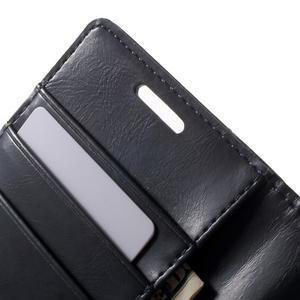 Moonleather PU kožené pouzdro na Samsung Galaxy Core Prime - tmavěmodré - 6