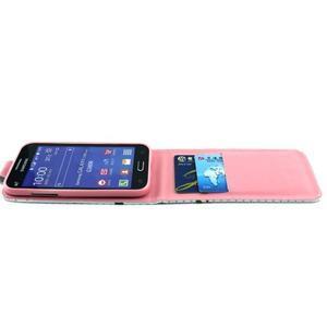 Flipové pouzdro na mobil Samsung Galaxy Core Prime - zamilované sovy - 6