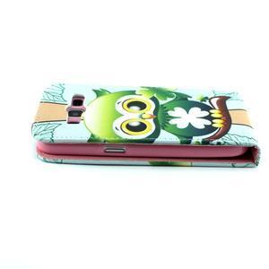 Flipové pouzdro na mobil Samsung Galaxy Core Prime - sovička - 6