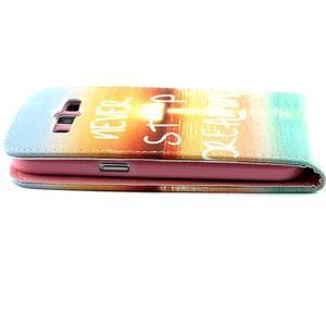 Flipové pouzdro na mobil Samsung Galaxy Core Prime - nepřestávej snít - 6