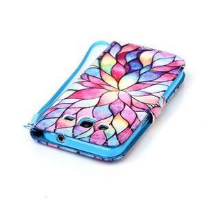 Pictu pouzdro na mobil Samsung Galaxy Core Prime - malované květy - 6