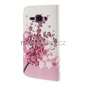 Zapínací pouzdro pro Samsung Galaxy J1 - kvetoucí větvička - 6