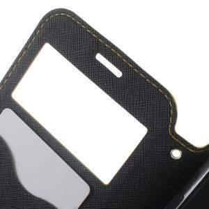 Roar PU kožené pouzdro s okýnkem na Samsung Galaxy J3 (2016) - žluté - 6