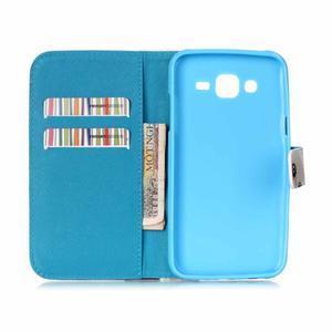 Pictu peněženkové pouzdro na Samsung Galaxy J5 - barevné lístky - 6