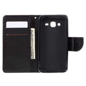 Peněženkové pouzdro na mobil Samsung Galaxy J5 - černé - 6