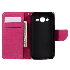 Peněženkové pouzdro na mobil Samsung Galaxy J5 - rose - 6