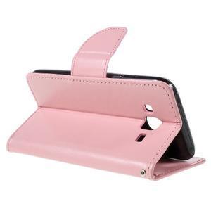 Peněženkové pouzdro na mobil Samsung Galaxy J5 - růžové - 6