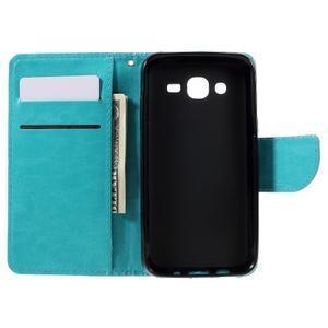 Peněženkové pouzdro na mobil Samsung Galaxy J5 - modré - 6