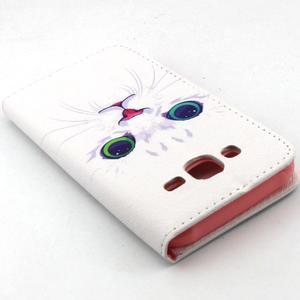 Knížkové pouzdro na mobil Samsung Galaxy J5 - kočička - 6