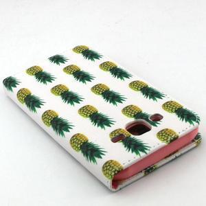 Knížkové pouzdro na mobil Samsung Galaxy J5 - ananasy - 6