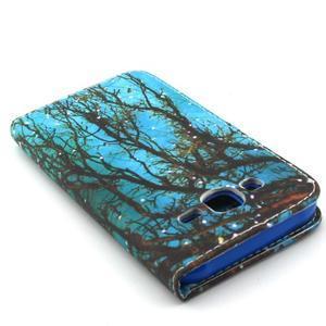 Knížkové pouzdro na mobil Samsung Galaxy J5 - strom - 6