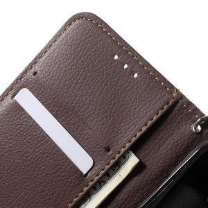 Leaf peněženkové pouzdro na Samsung Galaxy J5 - zelené - 6
