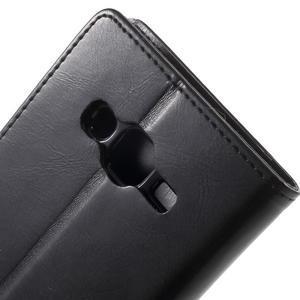 Mercury PU kožené pouzdro na mobil Samsung Galaxy J5 - černé - 6