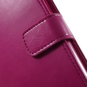 Mercury PU kožené pouzdro na mobil Samsung Galaxy J5 - rose - 6