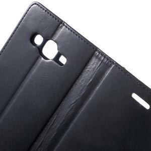 Mercury PU kožené pouzdro na mobil Samsung Galaxy J5 - tmavěmodré - 6