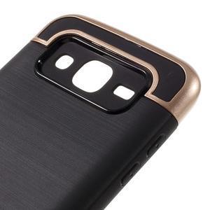 Odolný obal na mobil Samsung Galaxy J5 - champagne - 6
