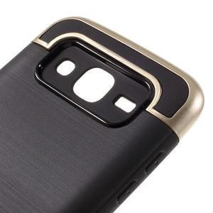 Odolný obal na mobil Samsung Galaxy J5 - zlatý - 6