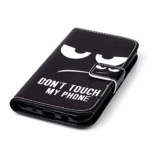 Pictu peněženkové pouzdro na Samsung Galaxy J5 - nešahat - 6