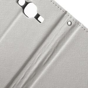 Crossy koženkové pouzdro na Samsung Galaxy J5 - bílé - 6