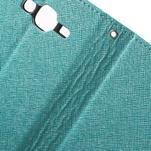 Crossy koženkové pouzdro na Samsung Galaxy J5 - modré - 6/7