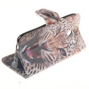 Standy peněženkové pouzdro na Samsung Galaxy J5 - leopard - 6