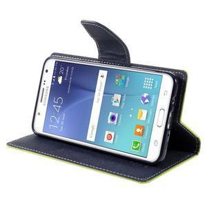 Diary PU kožené pouzdro na mobil Samsung Galaxy J5 (2016) - zelené - 6