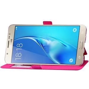 Stars pouzdro s okýnkem na mobil Samsung Galaxy J5 (2016) - rose - 6