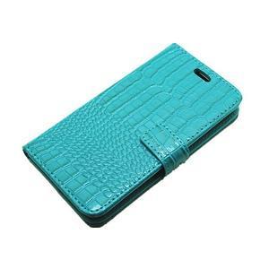 Croco peněženkové pouzdro na Samsung Galaxy J5 (2016) - modré - 6