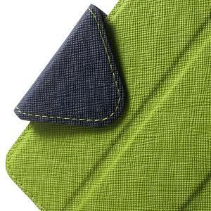 Knížkové pouzdro s okýnkem na Samsung Galaxy J5 (2016) - zelené - 6