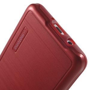 Gelový obal s plastovou výstuhou na Samsung Galaxy J5 (2016) - červený - 6