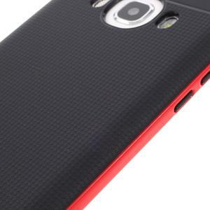 Hybridní obal 2v1 na mobil Samsung Galaxy J5 (2016) - červený - 6