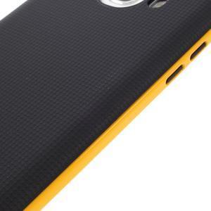 Hybridní obal 2v1 na mobil Samsung Galaxy J5 (2016) - žlutý - 6