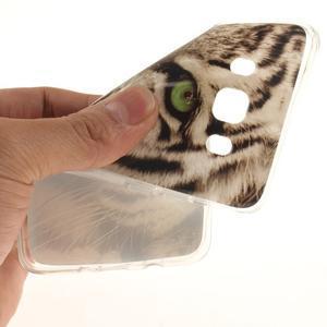 Gelový obal na mobil Samsung Galaxy J5 (2016) - bílý tygr - 6