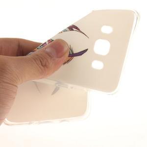 Gelový obal na mobil Samsung Galaxy J5 (2016) - barevná peříčka - 6